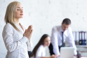 Benefits of yoga at work