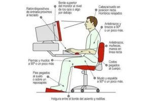 Tips to take care of posture at work